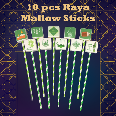 Hari Raya 2018 Customisable Mallow Sticks