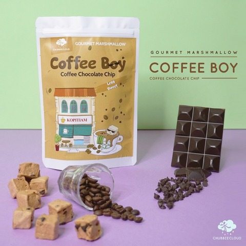 Gourmet Marshmallows - Coffee Boy